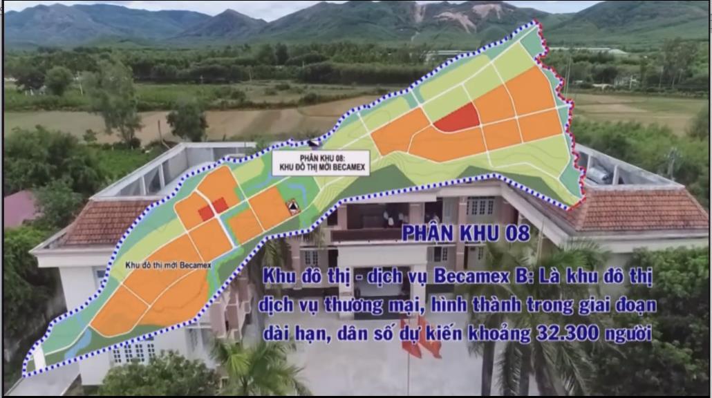 Quy hoạch dự án Becamex Bình Định khu B